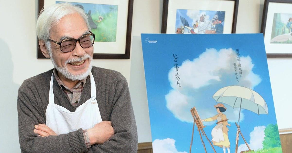 Хаяо Миядзаки с сыном, работают над двумя новыми фильмами студии Ghibli
