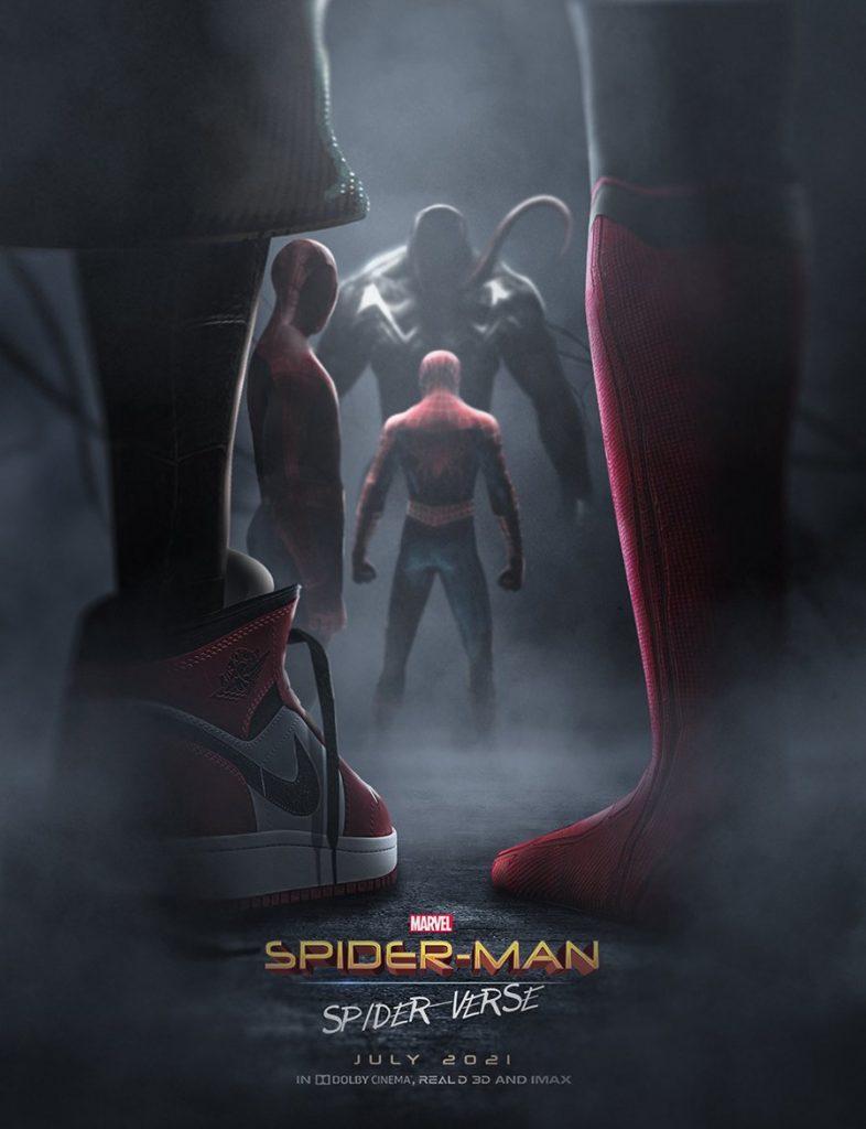 Постер «Человека-паука« объединяет все вселенные