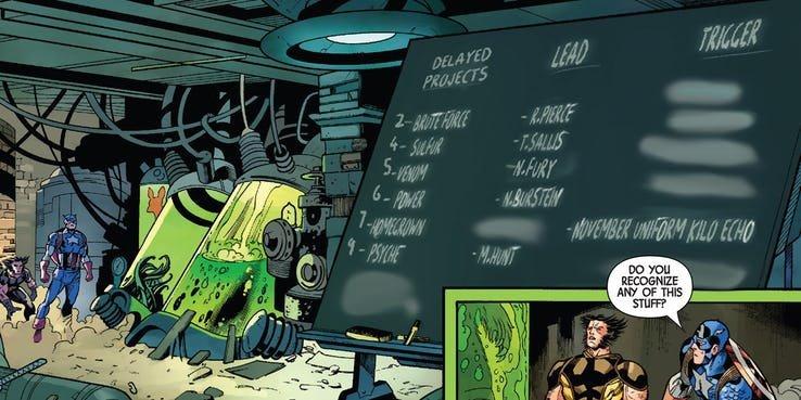 «Росомаха и Капитан Америка: Оружие Плюс» #1