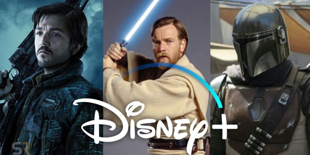 «Мандалорец» Disney + Star Wars