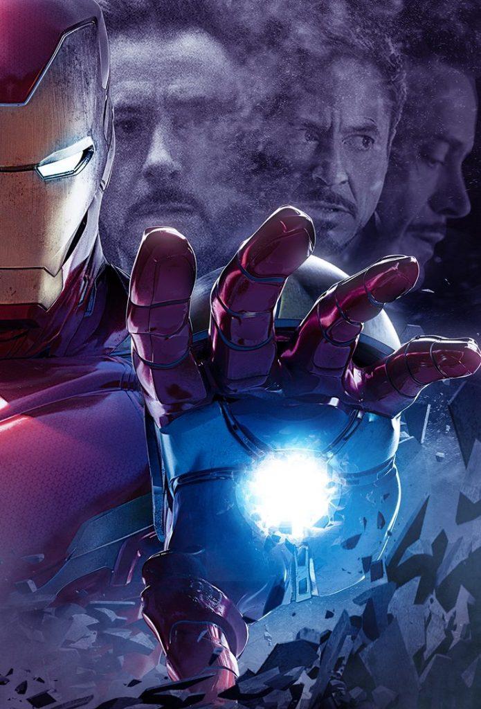 новейший постер мстителей включает себя
